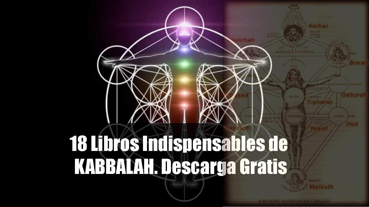 18 libros de Kabalah