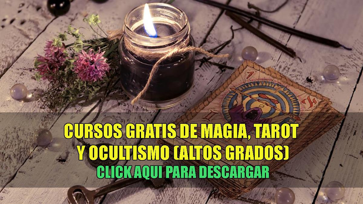 Cursos gratis de Magia, tarot y filosofia oculta